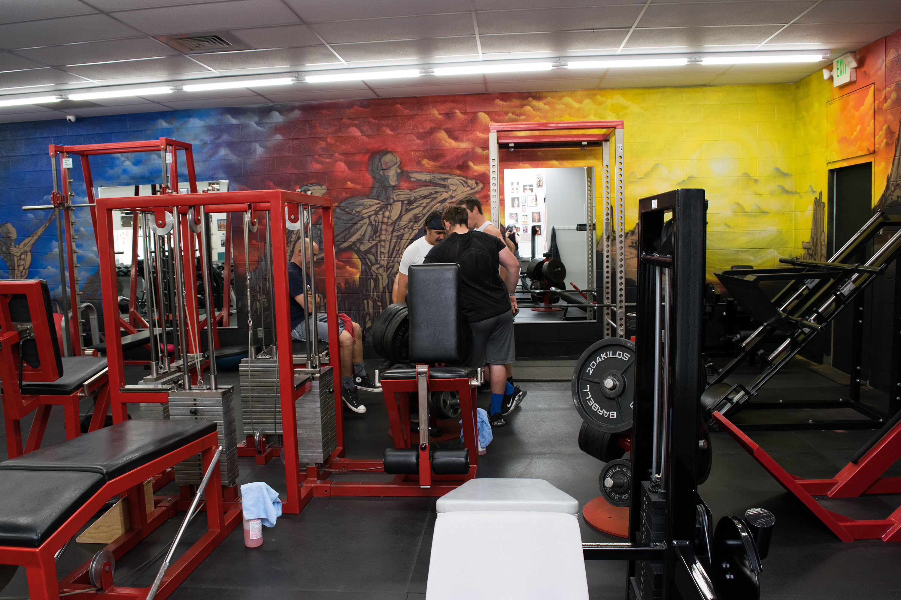 Monument room fitness club and